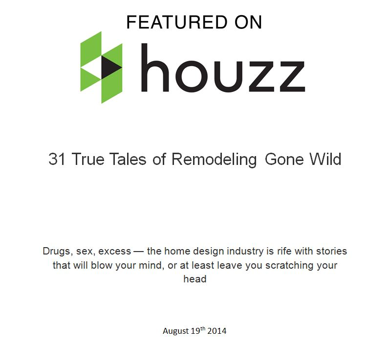 Featured on Houzz 8.19.14