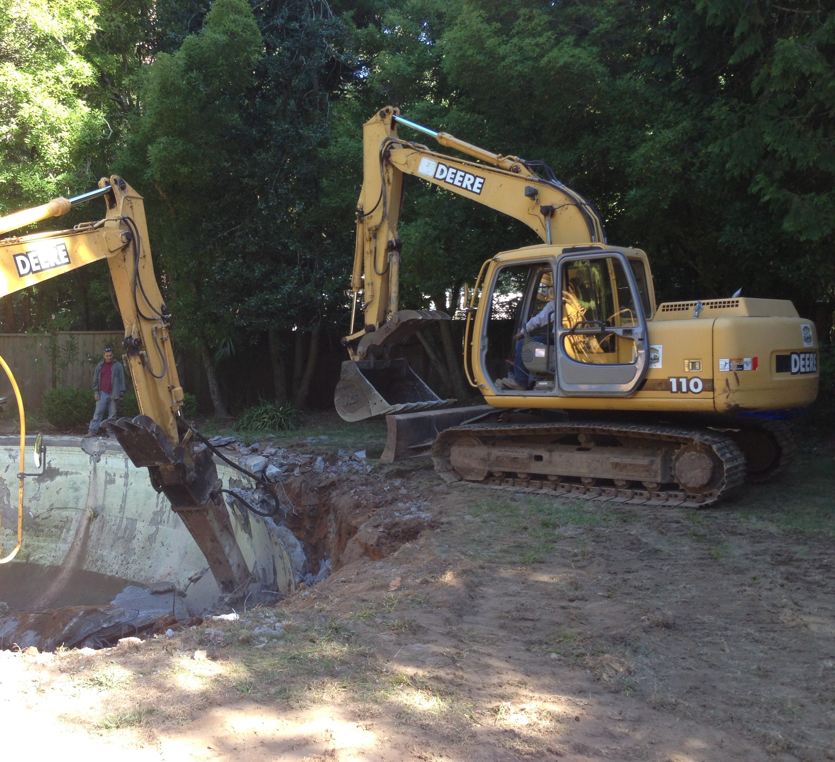 Mill Valley Pool Digging
